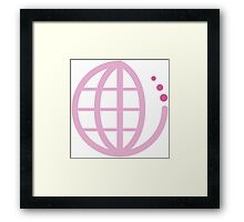 ecoecho : mother earth Framed Print