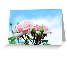 Rose in Heaven Greeting Card