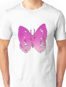Butterfly Number 2 Adults Unisex T-Shirt