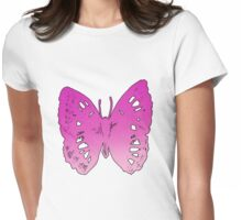 Butterfly Number 2 Adults Womens Fitted T-Shirt