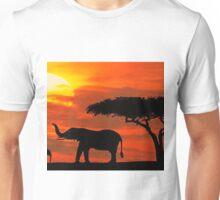 kenya wildlife Unisex T-Shirt