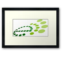 eco echo Framed Print