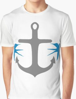 Anchor and Swallows Graphic T-Shirt