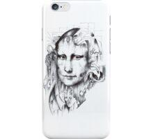 Behind Mona Lisa iPhone Case/Skin