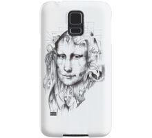 Behind Mona Lisa Samsung Galaxy Case/Skin