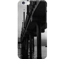 Staring at the sun - Black and White iPhone Case/Skin