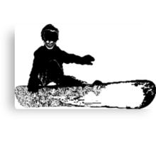 skeleboarder : board or die Canvas Print
