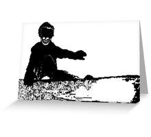 skeleboarder : board or die Greeting Card