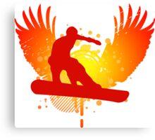 snowboard : hi-fi Canvas Print