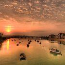 Adur Sunset by Steve
