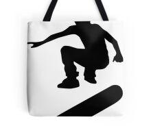 skateboard : silhouettes (SMALL) Tote Bag
