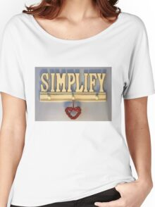 Simplify! Women's Relaxed Fit T-Shirt