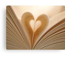 A Novel Romance Canvas Print