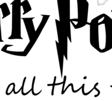 Harry Potter - Always Sticker