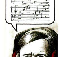 Hipster Richard Wagner Sticker