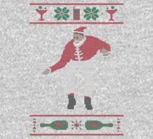 Christmas Bling - Santa One Piece - Long Sleeve