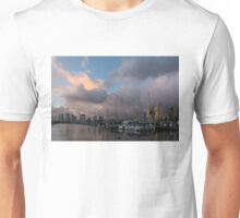 Tropical Storm Skies Over Ala Wai Harbor in Honolulu, Hawaii Unisex T-Shirt