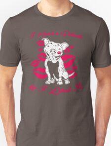 I Kissed A Pit Bull And I Like It! T-Shirt