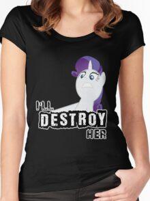 Rarity of Destruction! Women's Fitted Scoop T-Shirt