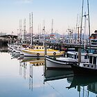Fishermans Wharf in the Morning Light by Mike Koenig