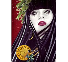 Witch of Fortune Photographic Print