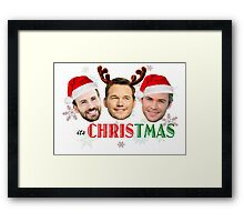 Its CHRIStmas (Marvel only) Framed Print