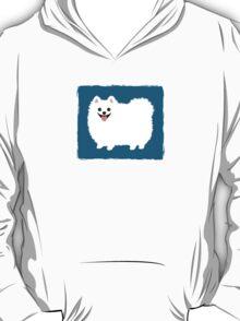 Fluffy White Pomeranian T-Shirt