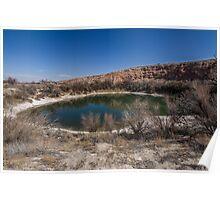 Bottomless Lakes - New Mexico Poster