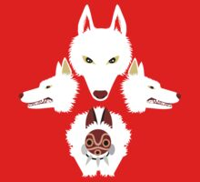 Mononoke - The wolves by rcdbstp21