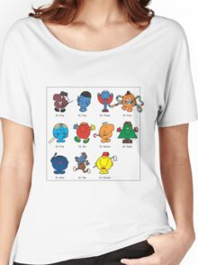 Mr Men Who Women's Relaxed Fit T-Shirt