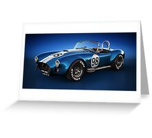 Shelby Cobra 427 - Bolt Greeting Card