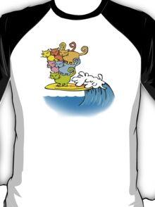 cat surfing T-Shirt