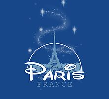 Paris [iPhone / iPad / iPod case / Tshirt / Print] by Fl  Fishing