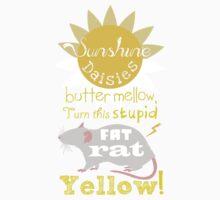 Sunshine daisies butter mellow... One Piece - Short Sleeve