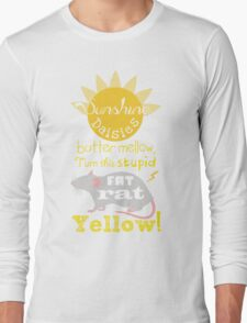 Sunshine daisies butter mellow... Long Sleeve T-Shirt