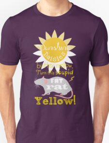 Sunshine daisies butter mellow... Unisex T-Shirt
