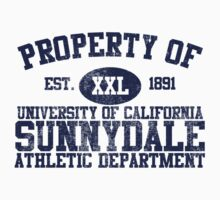 UC Sunnydale Athletic Department Kids Clothes