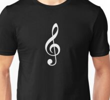 Treble Clef Unisex T-Shirt