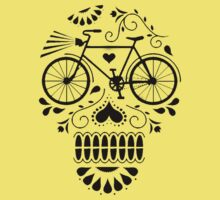 Day Of The Dead Bike  by turfinterbie