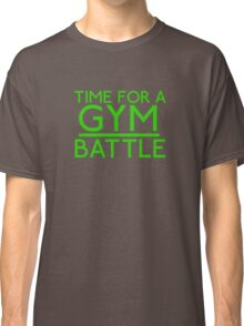 Time For A Gym Battle - Green Classic T-Shirt