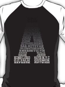 Word Association - Black Gradient T-Shirt