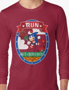 Sonic. Screwdriver (transparency version) Long Sleeve T-Shirt