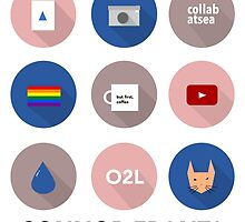 Connor Franta Infographic by dumbledored