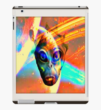 alien spirit iPad Case/Skin