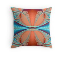 Reflected Discovery Throw Pillow