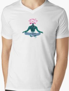 One Mind, One Garden Mens V-Neck T-Shirt