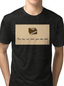 Treachery of Quantum Physics Tri-blend T-Shirt