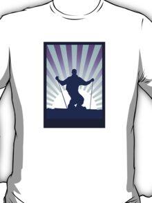 sunset ski T-Shirt