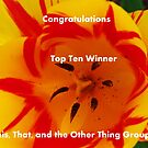 Banner - Top Ten - Tulips by quiltmaker