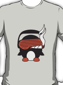 Penguin DJ With Joint T-Shirt